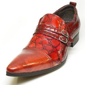 NWB FIESSO ENCORE LEATHER RED PATENT SHOE FI3203